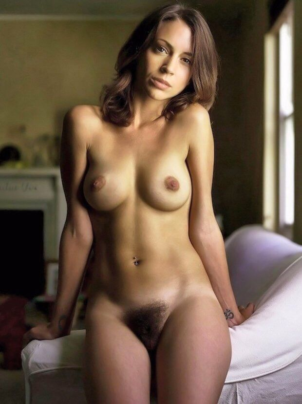 Beautiful woman hairy pussy