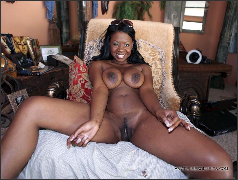 Black sexy boobs