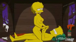 Nelson muntz and marge simpson porn