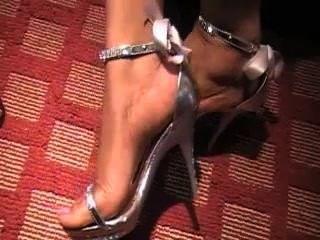 Nice feet in heels xxx