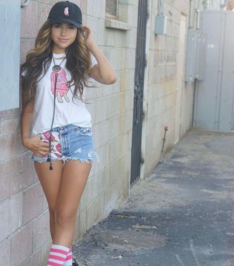 Young latina teen s