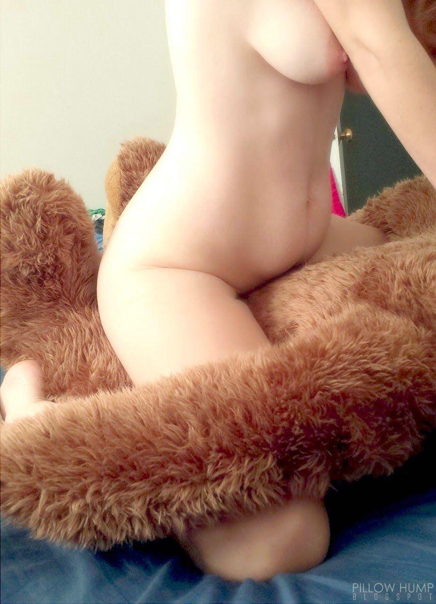 Naked girls humping things
