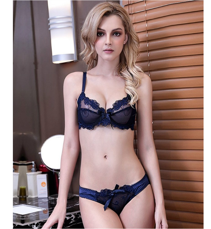Sexy bra and panties model