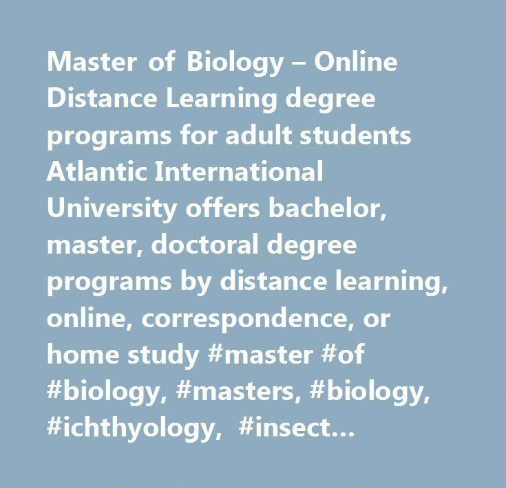 Adult degree learning master