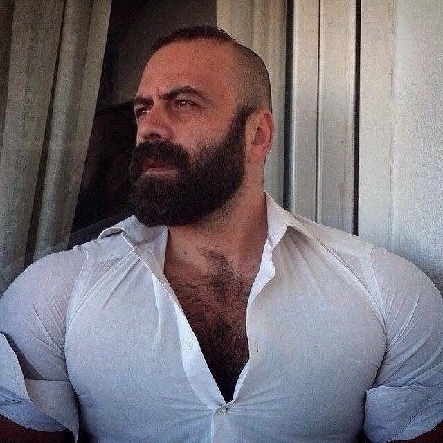 Beard man hot dick pic