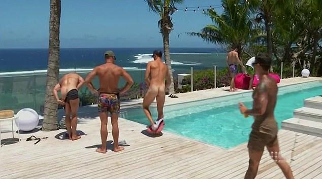 Camping boys hot naked