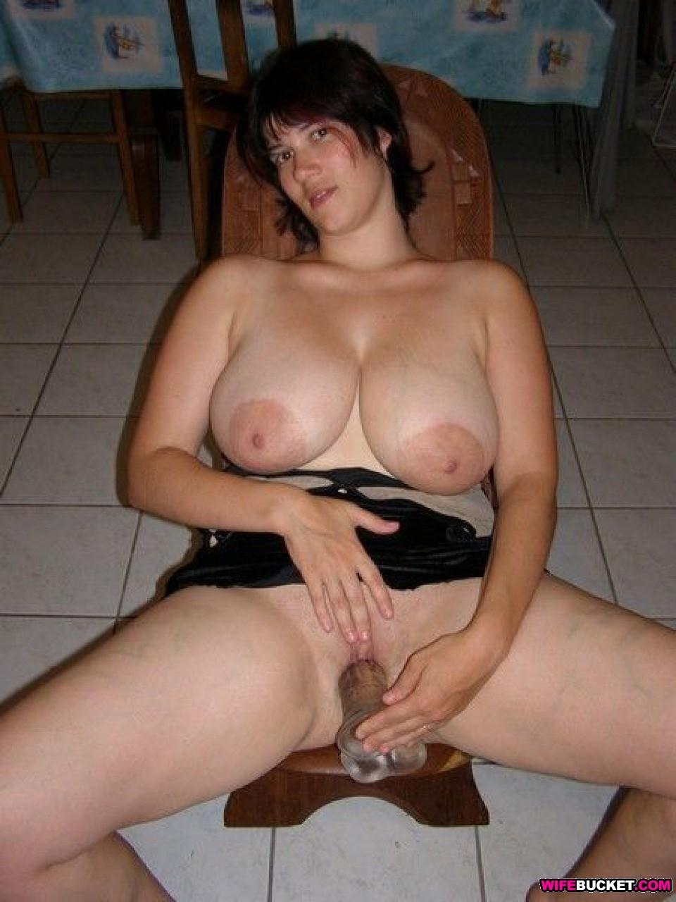 Big boob amature wife