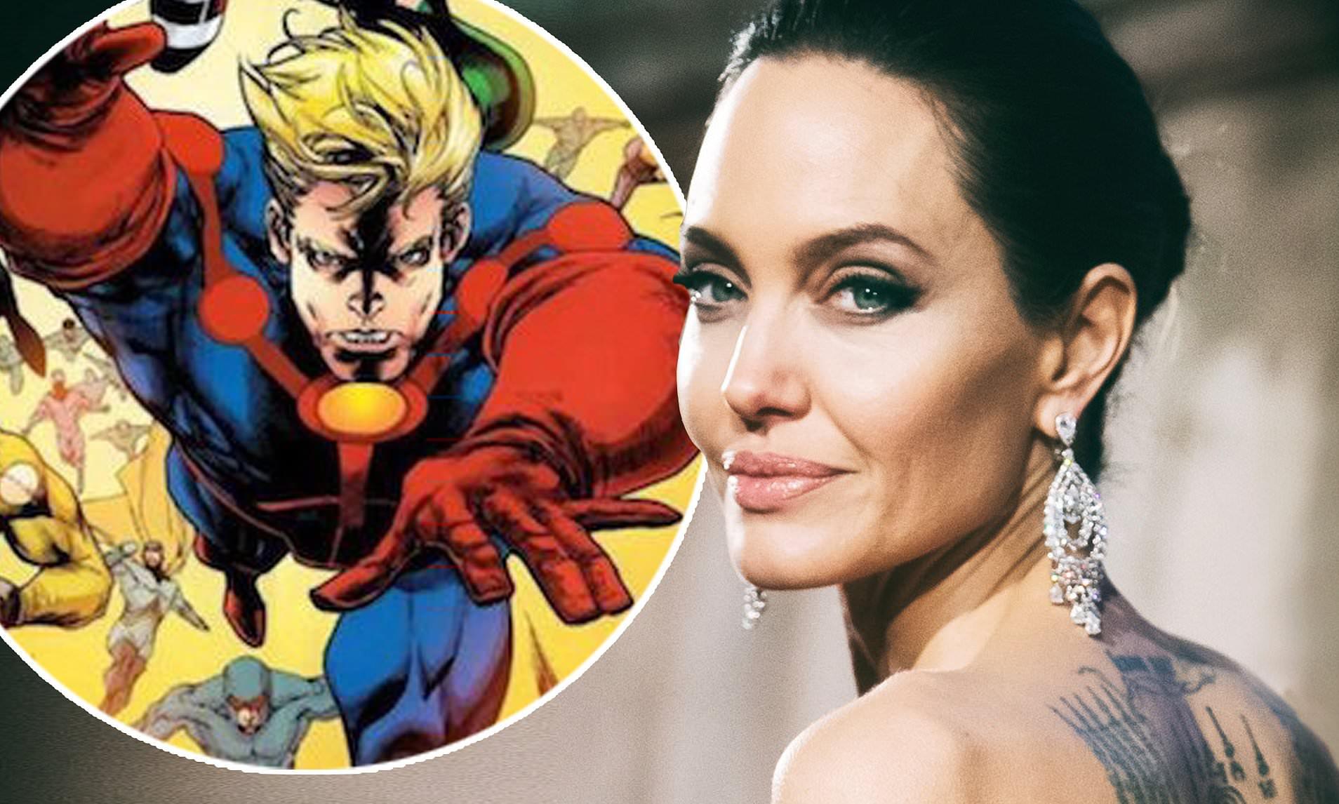 Angelina jolie cartoon porn comic