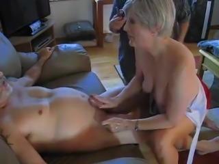 Amateur mature bisexual group sex