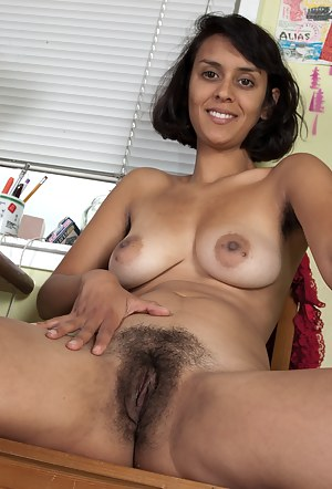 Natural hairy nude moms