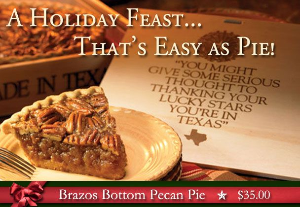 Brazos bottom pecan pie and suppliers