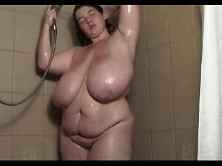 Shower nude bbw
