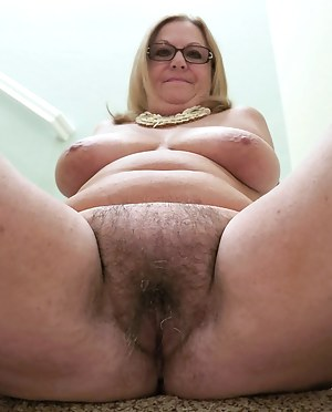 Pussy old fat granny