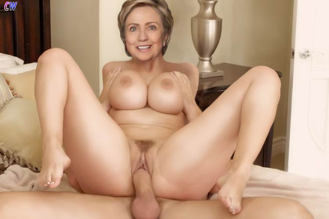Hillary clinton fake blowjob