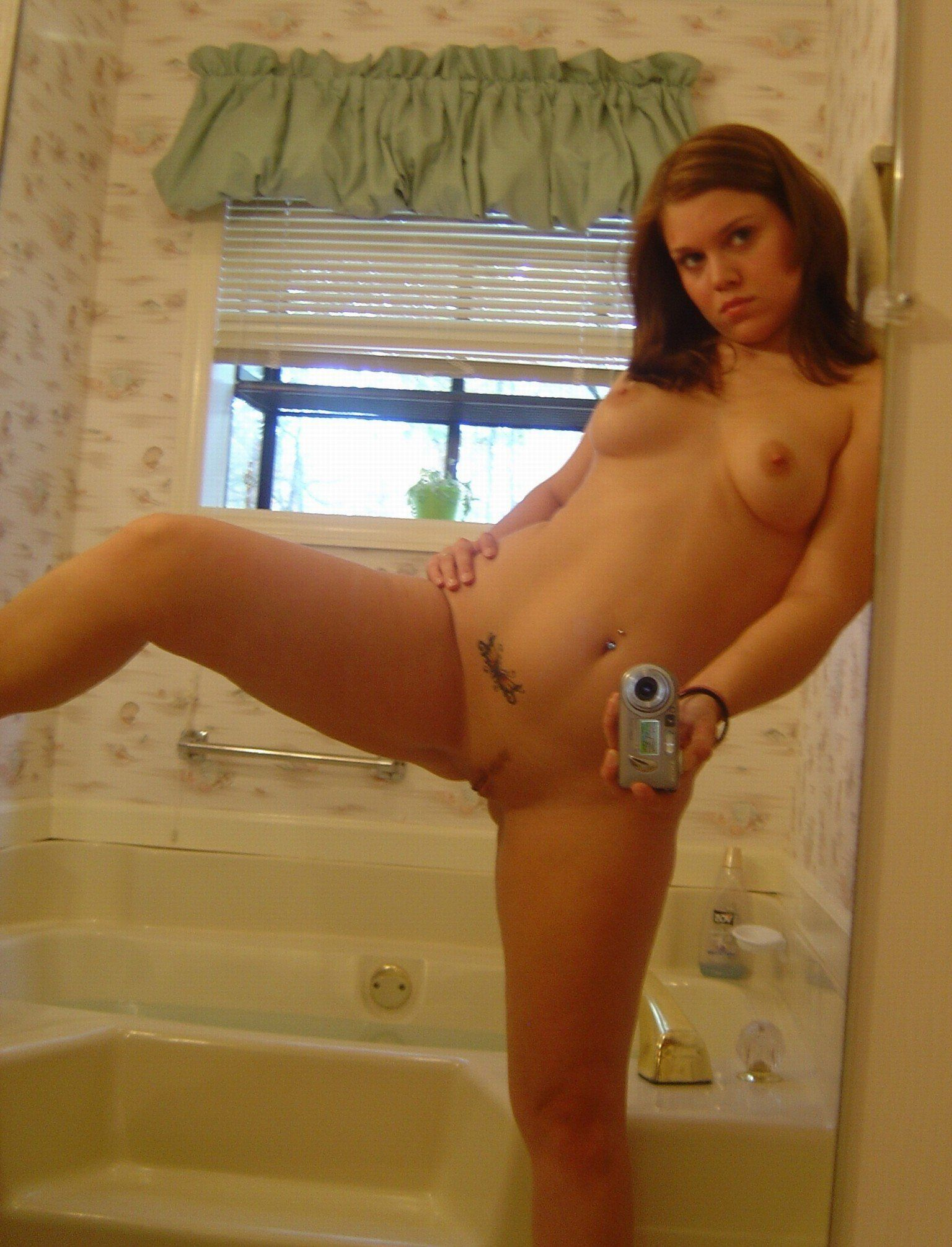 Self shot nude girls together