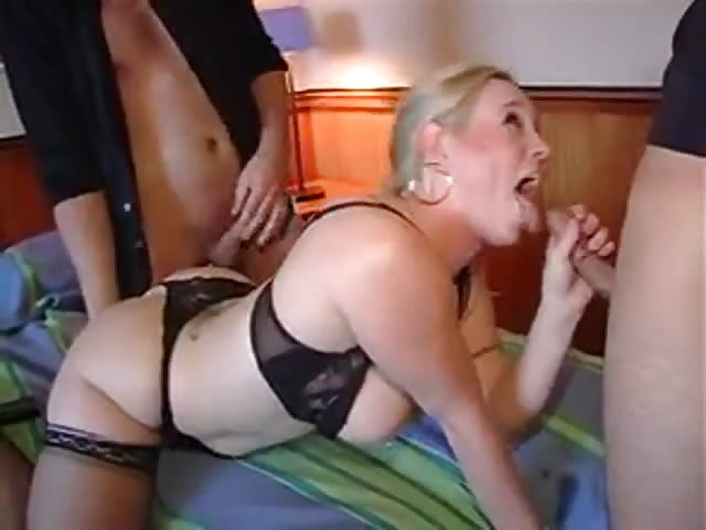Woman getting ass fucked