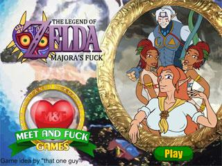 Play legend of zelda porn games