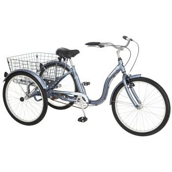 Village velo single speed freewheel adult trike