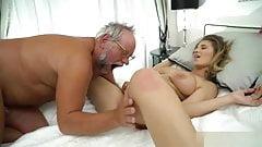 Old man sex girl