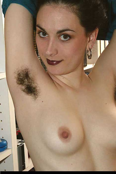 Pussy women hairy hairy armpits with and
