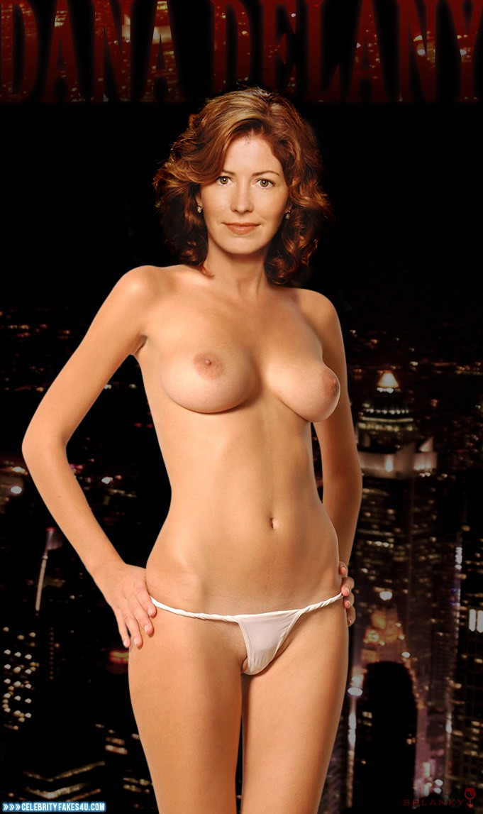 Dana delany fake nude celebrity