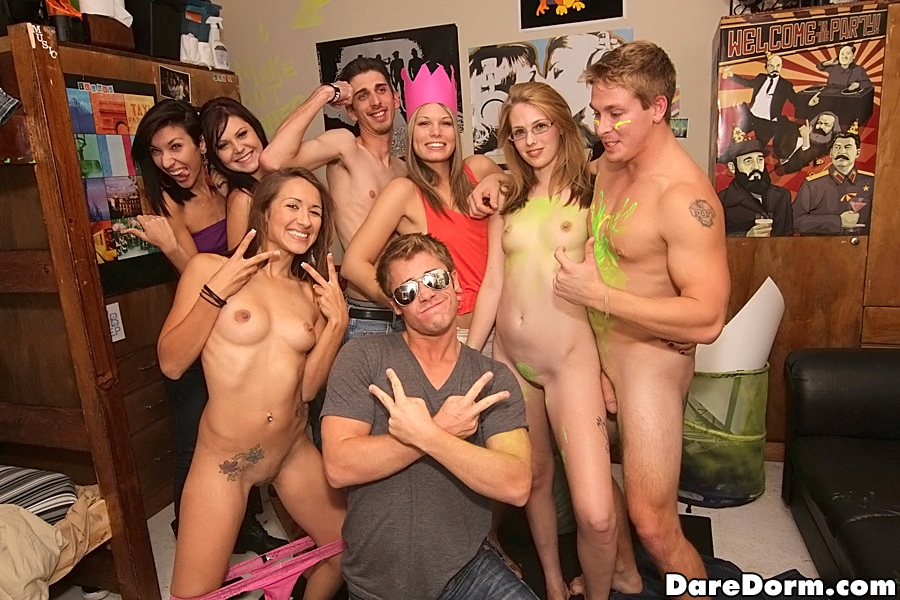 Lesbian college girls stripping