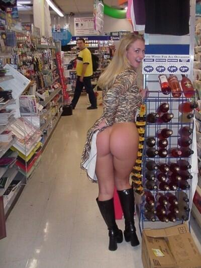No panties upskirts boots