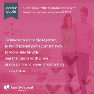 Romantic love poems her