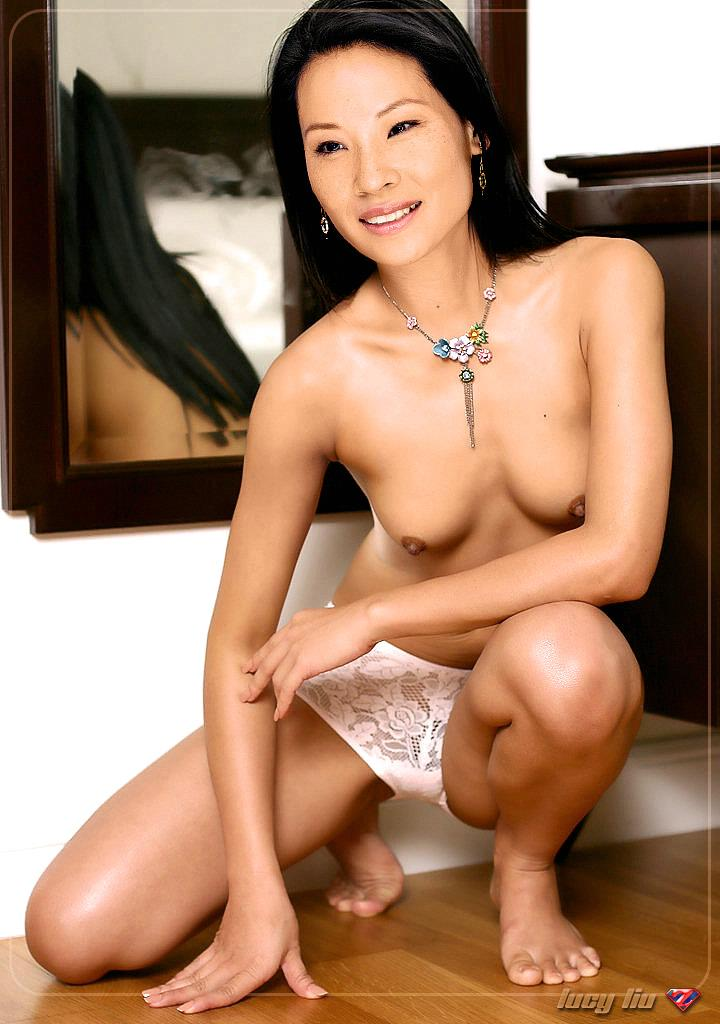 Lucy liu nackt fake