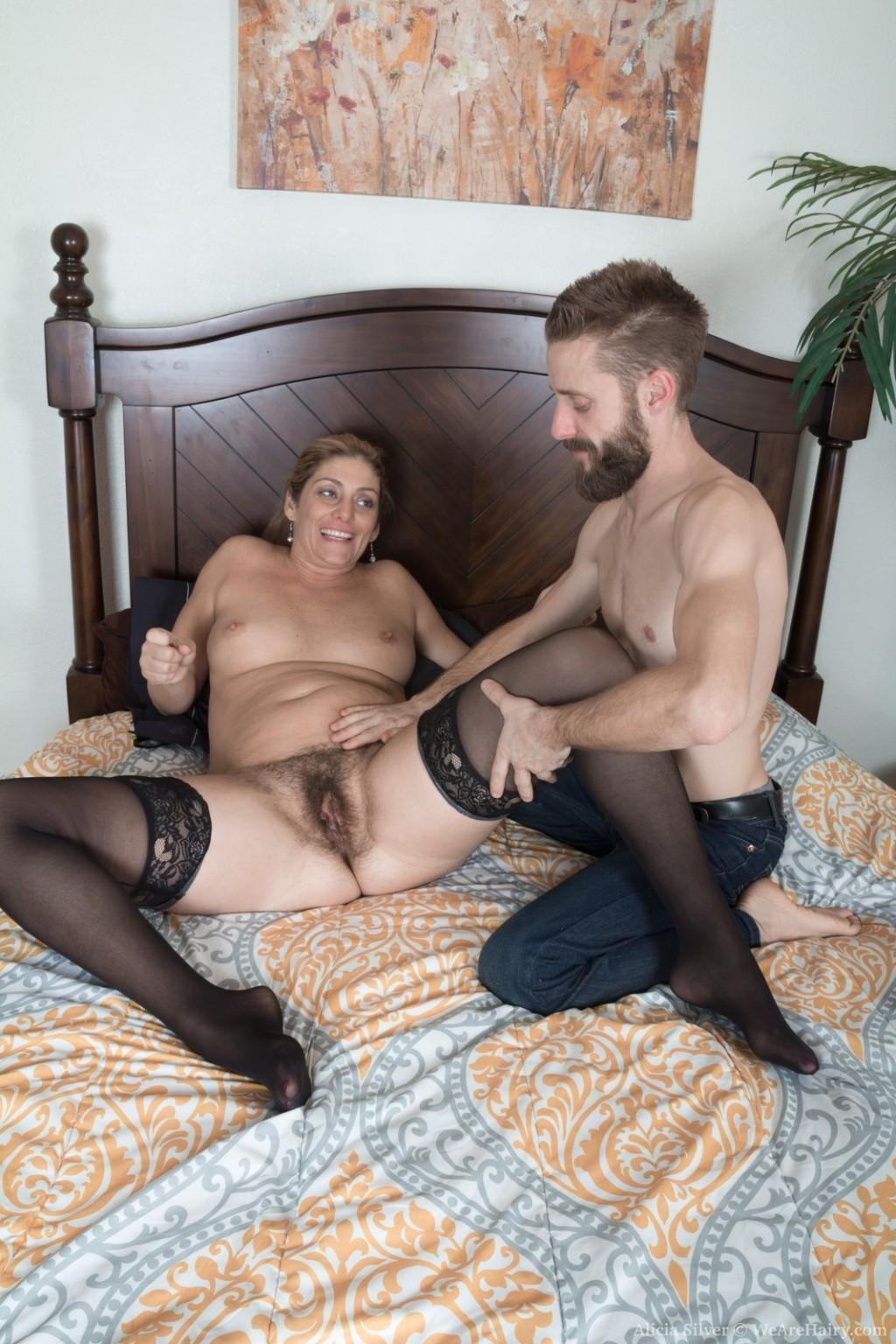 Hot hairy milf sex