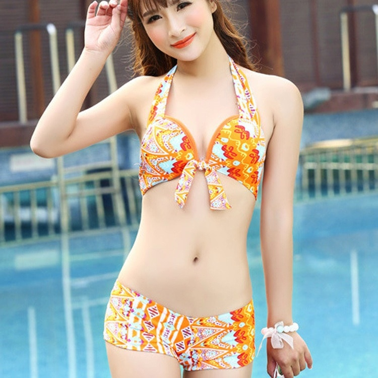 Sexy asian girl swimsuit