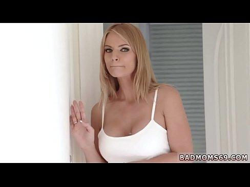 My first sex teacher blonde milf