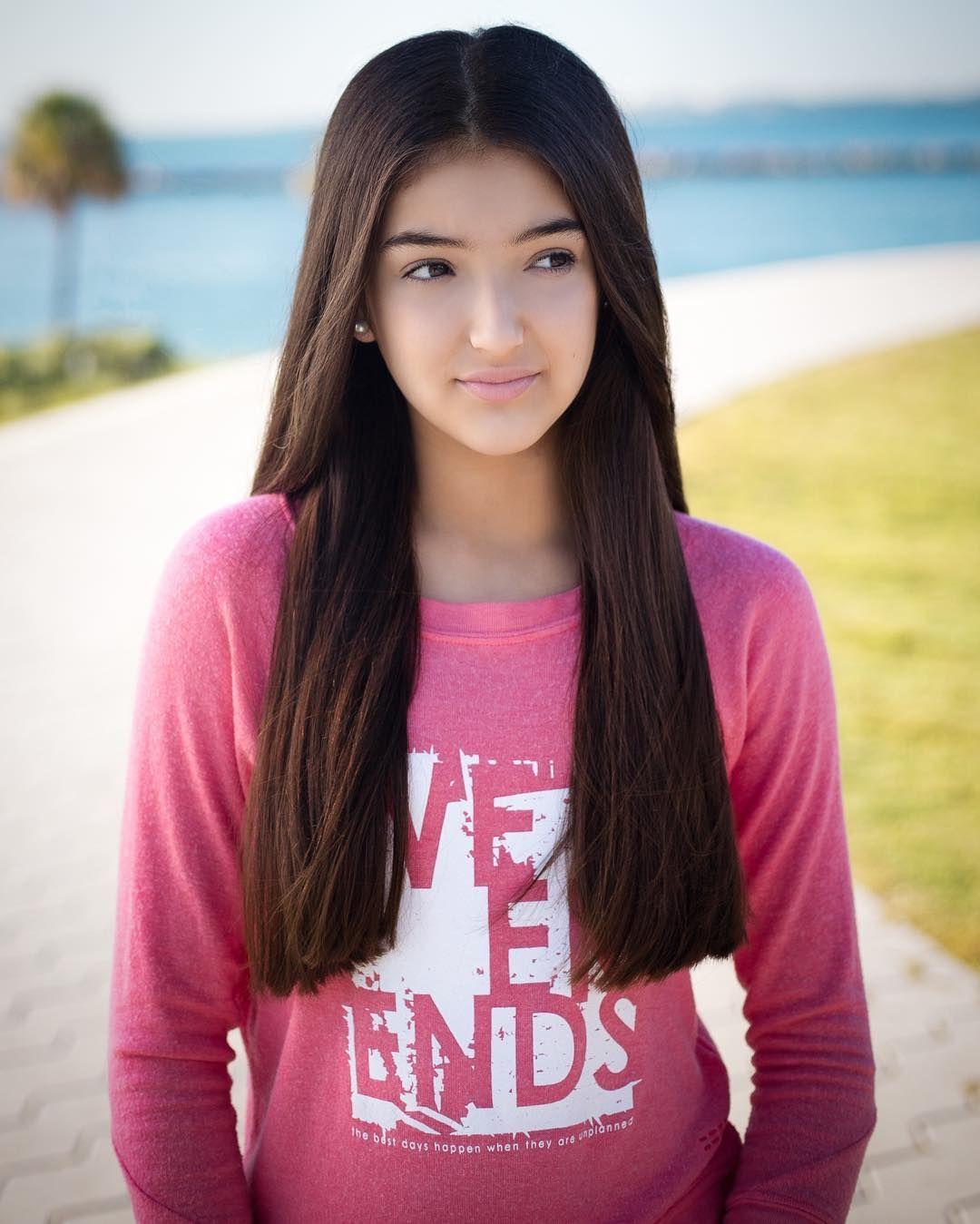 Latin teen girl model