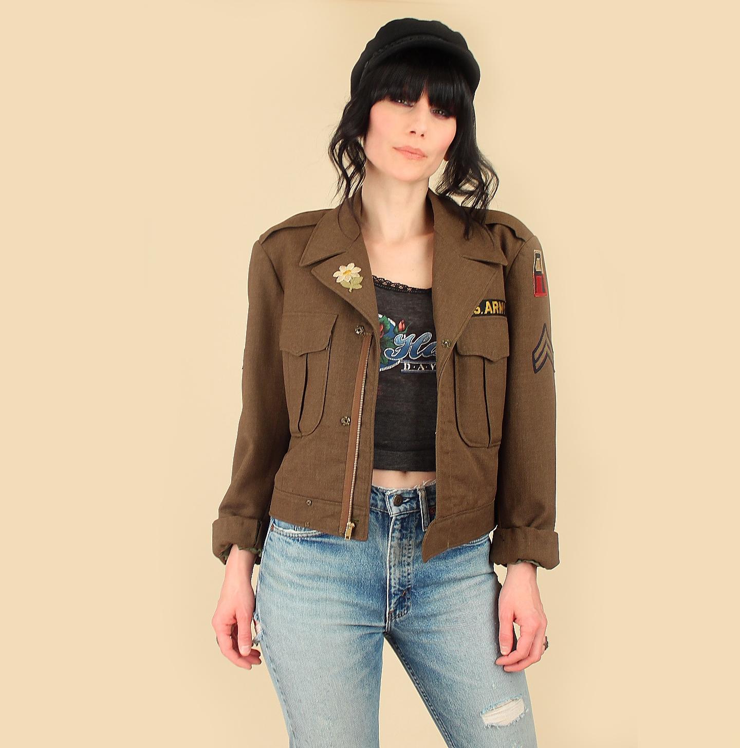 Vintage world war ii jackets