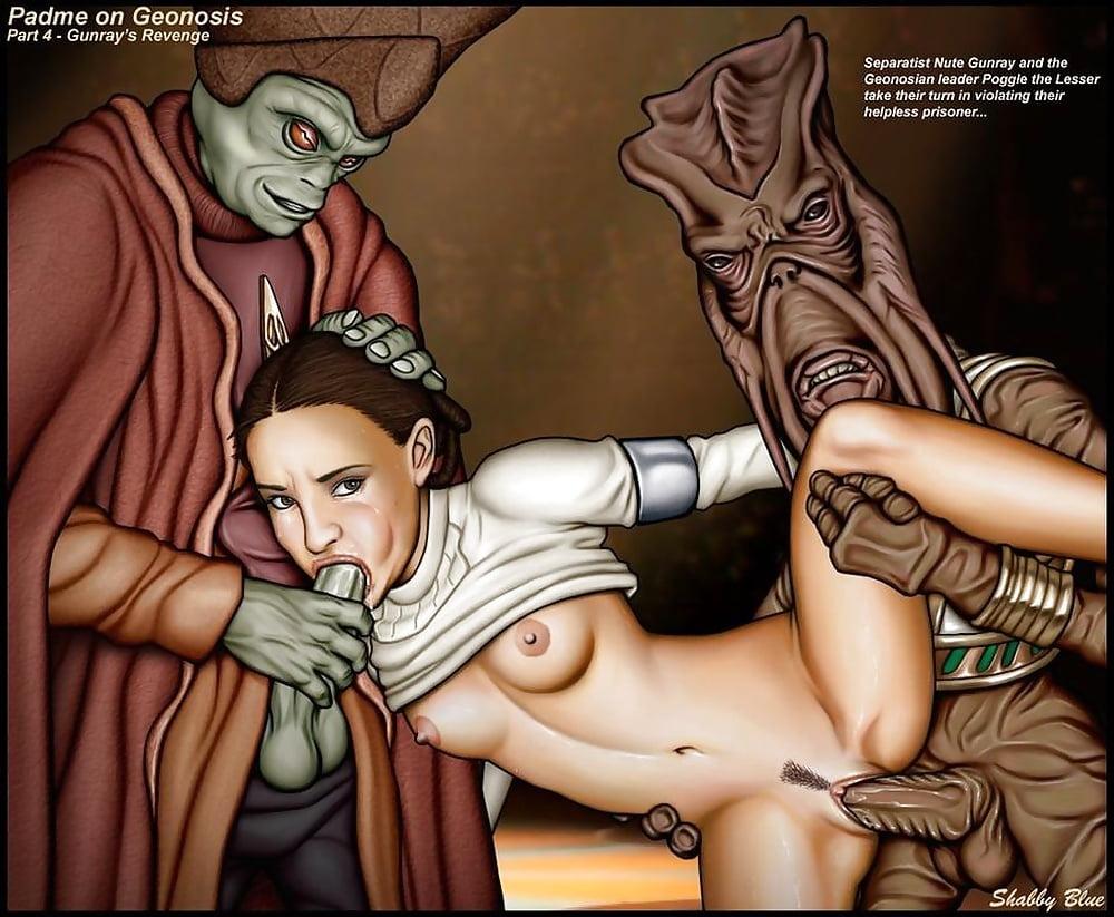 Star wars cartoon porn padme