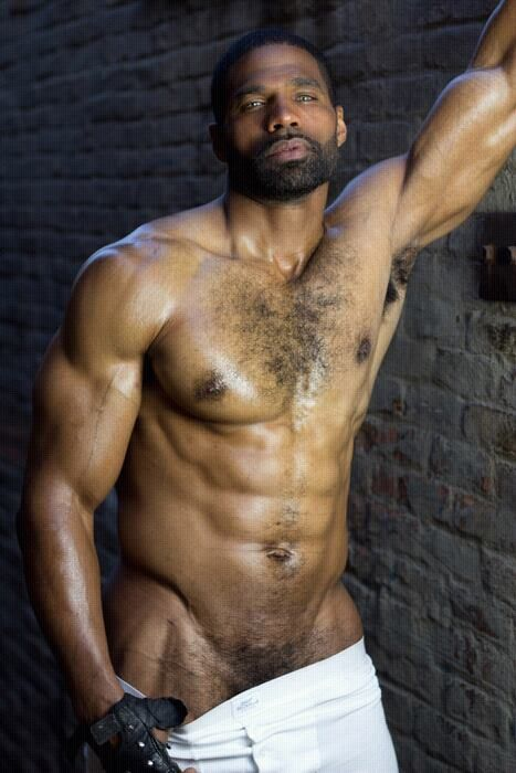 Hairy black boys naked