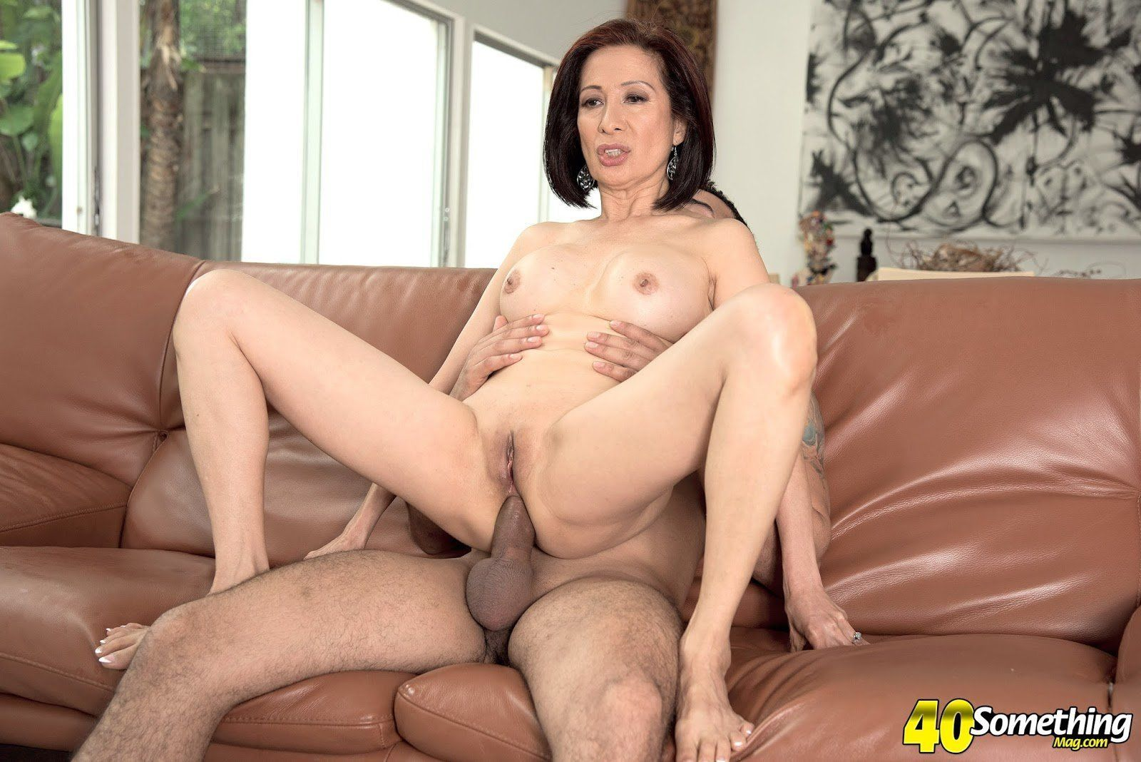 Mature asian anal porn