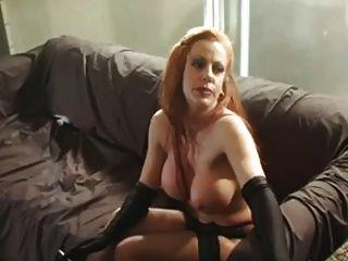 Smoking nurse fetish redhead