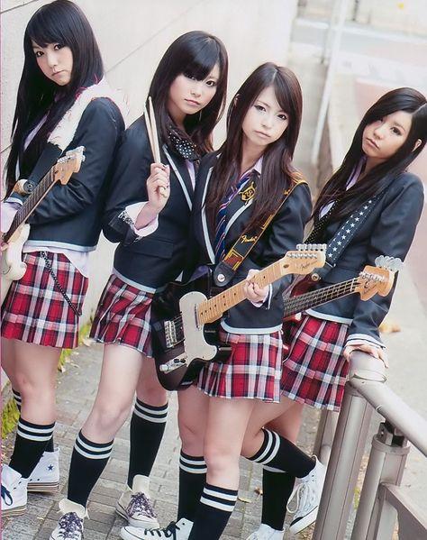 Nude j pop group