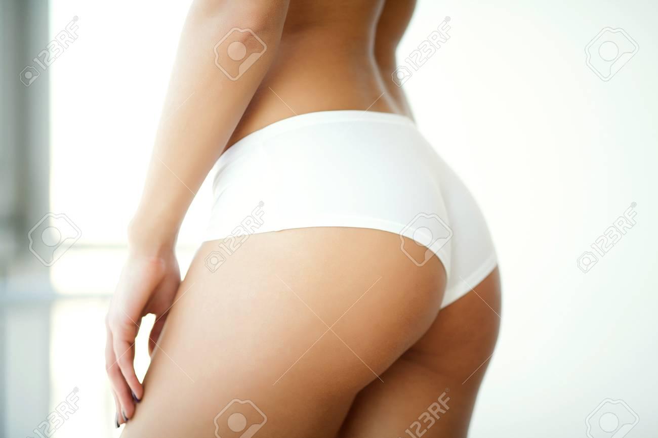 Sexy big butt close up
