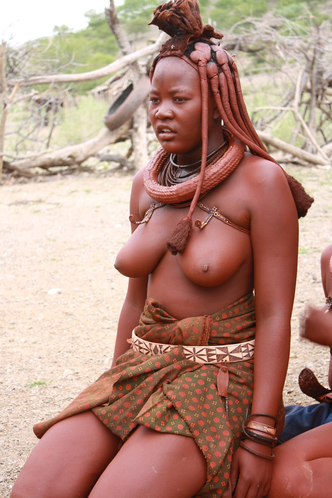Naked african village girl