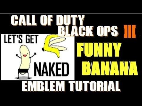 Naked cod black ops emblem