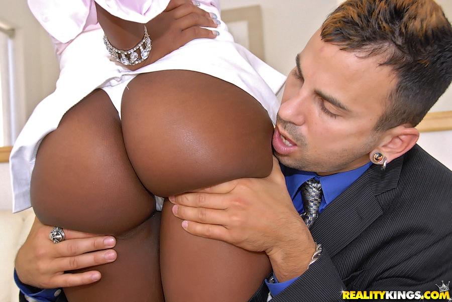 Black anal ass big tits