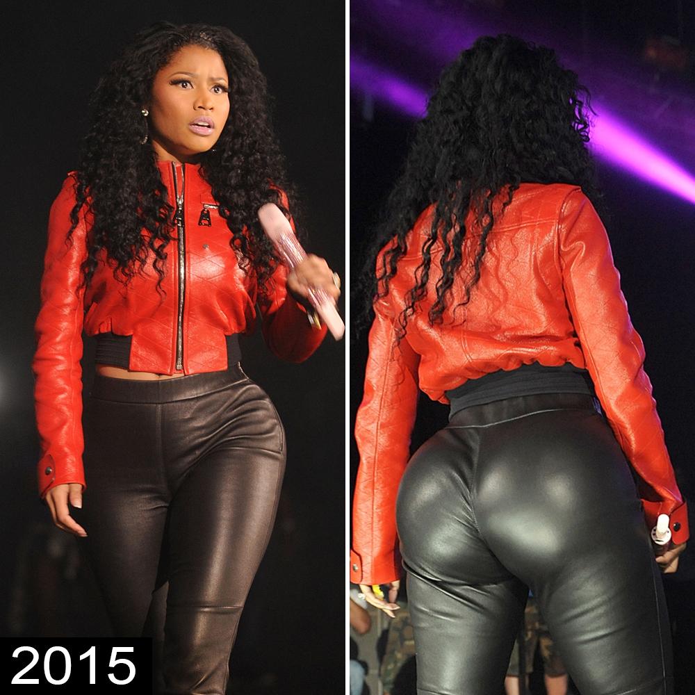 Minaj ass nicki booty