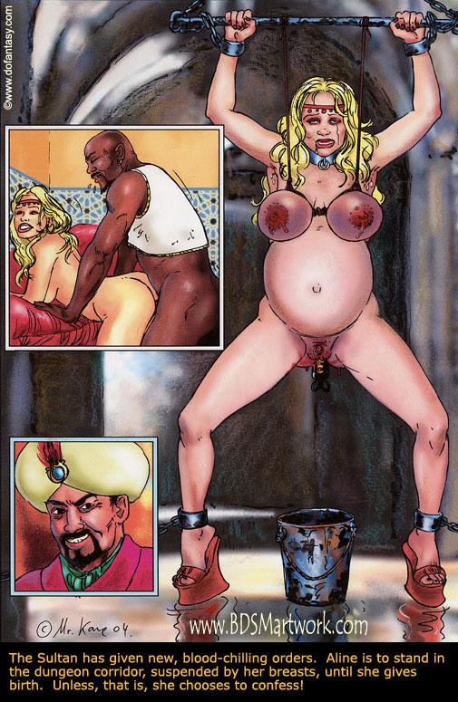 Harem slave sex comic