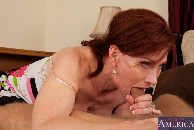 Mature redhead mom getting fucked