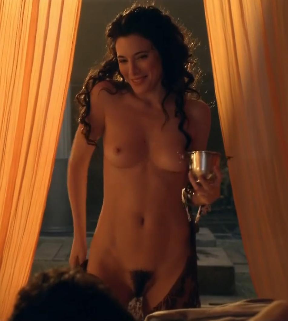 Jaime murray spartacus nude scene