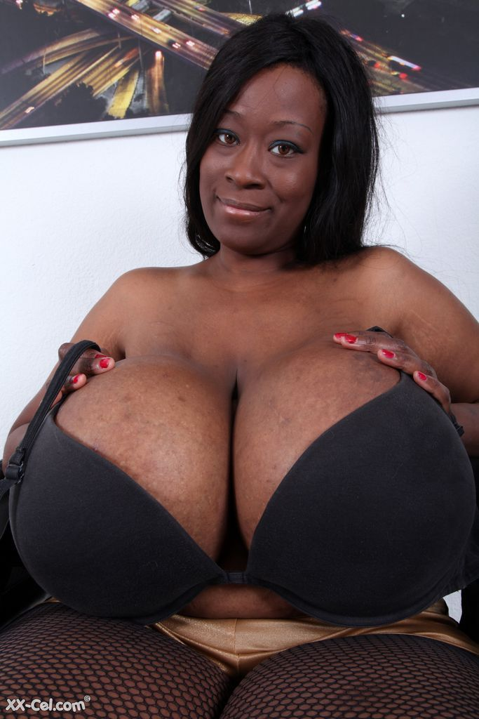 Big black breast pic