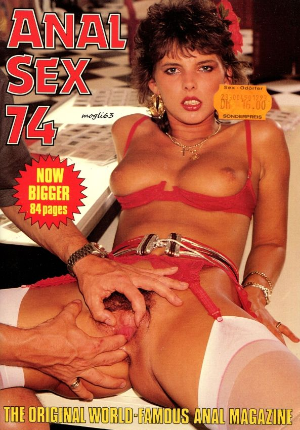 Magazine anal covers sex