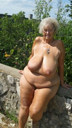 Untitled hairy old granny